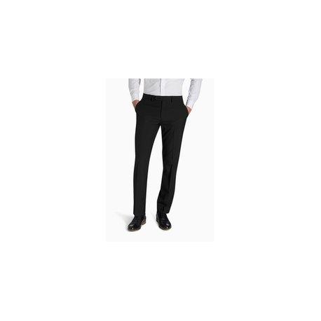 Pantalon de ville classique droit noir